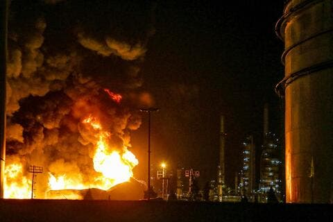Iran: Massive Fire Contained in Kerman's Zarand Steel Plant