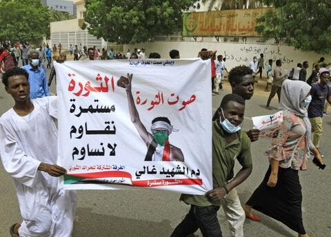 Protests in Sudan on The 2nd Anniversary of The 2019 Massacre