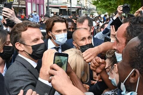 Replace the French Kiss With the French Slap! Top Macron MEMEs