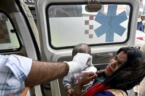 India COVID-19 Cases Drop to Around 80,000