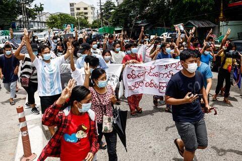 Myanmar Ousted Leader Suu Kyi Denies Bribery Claims