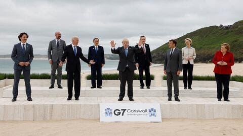 G7 Summit Kicks Off in Cornwall