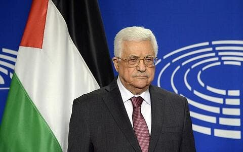 Abbas Allegedly Agrees to Pay $42,000 to a Man's Family Who Killed Two Israelis