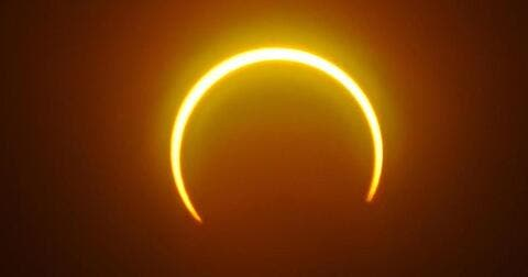 'Ring of Fire' Solar Eclipse Casts Shadow Over Russia, Canada Next Week