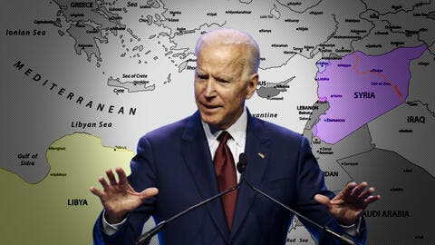 Biden Can't Differentiate Between Syria and Libya!