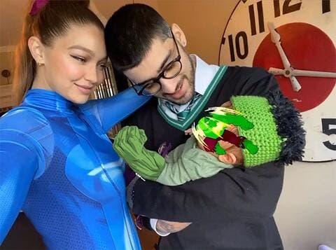 مشاهير هوليوود يحتفلون بعيد الأب.. وزين مالك بتكريم خاص من جيجي حديد!