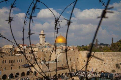 Jewish Settlers Under Israeli Police Storm Al-Aqsa Mosque