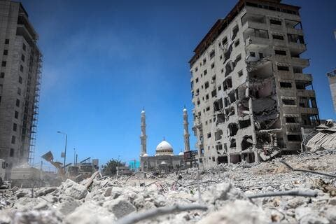 UNRWA: Israeli War Leaves 'Large-scale Destruction' in Gaza