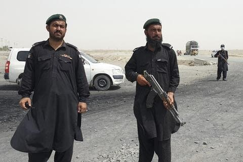 Afghan Forces Clash With The Taliban on Pakistan Border Crossing