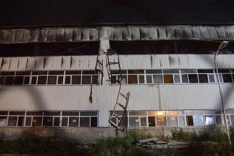 Massive Warehouse Fire Kills 14 in China