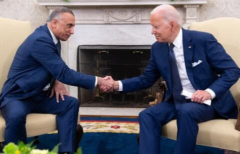 Biden-Kadhimi: The US, Iraq Commit to Beat ISIS