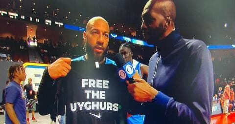Former NBA Player Royce White Slams Persecution of Uyghur Muslims in China