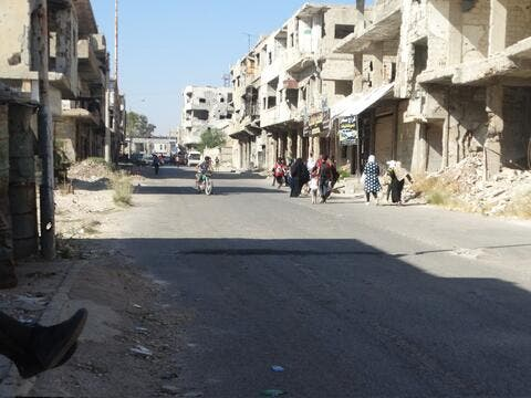 Syrian Regime Intensifies Attacks on Daraa al-Balad
