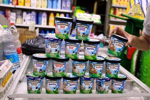 No Ice Cream For You! Ben & Jerry's Tell Israeli Settlers!