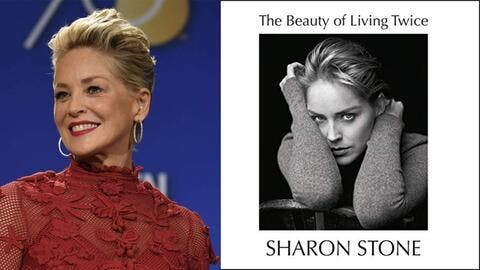 صدور مذكرات الممثلة الأمريكية شارون ستون بعنوان