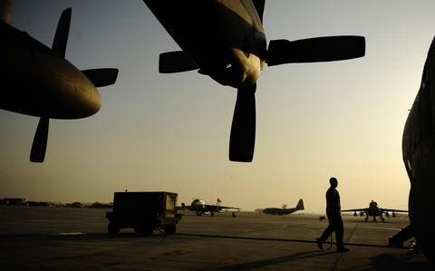 The US, NATO Troops Leave The Biggest Afghan Air Base