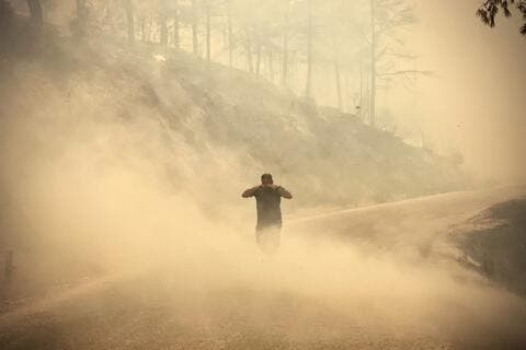 Turkey's 100 Wildfires Kill Six People