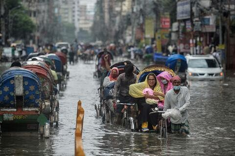 Flooding Affects Over 100,000 Residents in Bangladesh
