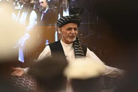 Afghan President Arrives to Frontline Province Amid Taliban's Advances