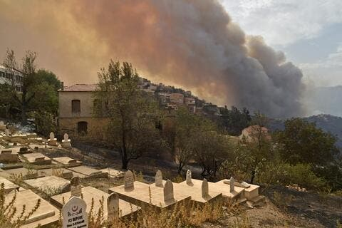 Algeria Fires Death Toll Spikes to 42