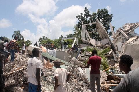 Haiti Disaster: Powerful Quake Kills 1,297