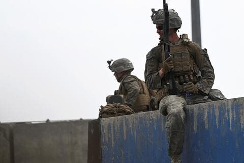 Biden: US Forces Extend Security Zone Near Kabul Airport