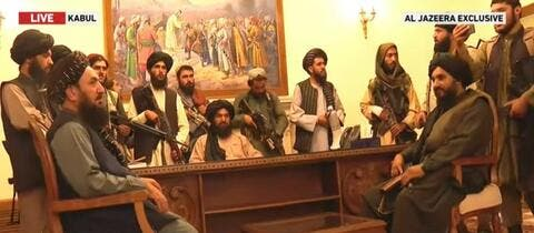Taliban: Long-lasting Bloody War is Over, Islamic Govt to be Formed