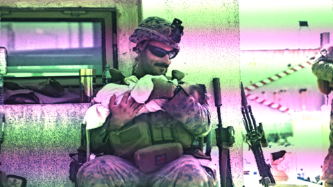 'Whitewashing War Crimes'? Photos of US Marines Taking Care of Afghan Babies at Kabul Airport Go Viral