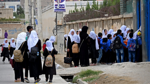 Afghan Girls Are Still Going to Schools, but No Coed Institutions Anymore