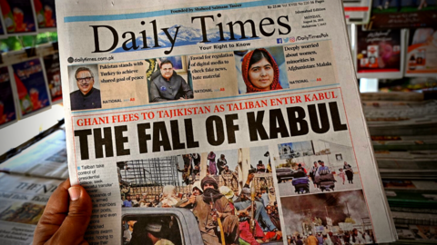 Video: Bodies of Afghan Civilians at Kabul's Airport