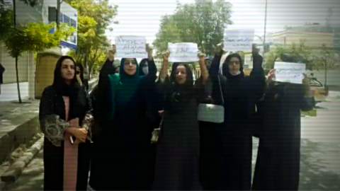 Afghan Women Bravely Demand Their Freedoms in Taliban-Controlled Streets