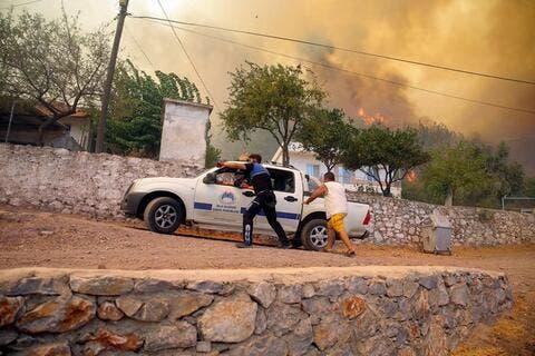 Algeria Wildfires Kill at Least Four People