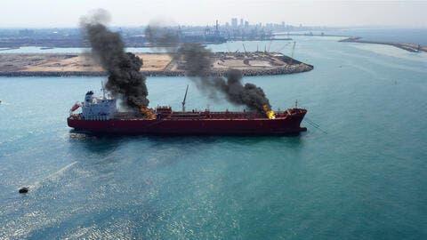 Hijacked Asphalt Princess Oil Tanker Off The UAE Coast is Now Safe