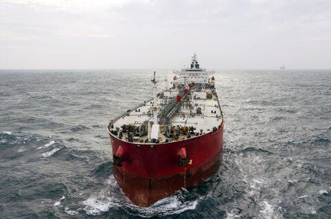 Iranian Fuel Tanker Enters Syrian Territorial Waters