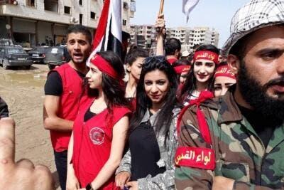 الاسد يشترط على اهالي درعا عدم شتمة على الفيس بوك