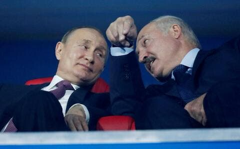 As The Russian Bear Backs Belarus Europe Expresses Worry
