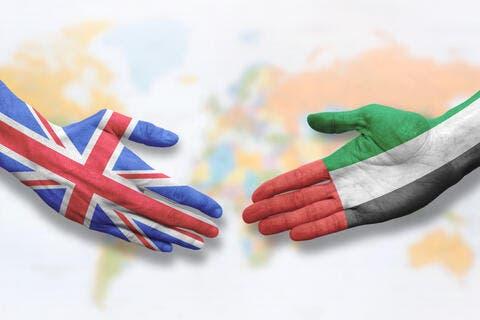 الإمارات تبحث فرصاً جديدة للشراكة مع المملكة المتحدة