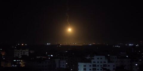 Sirens Blare Near Israel's Border With Gaza