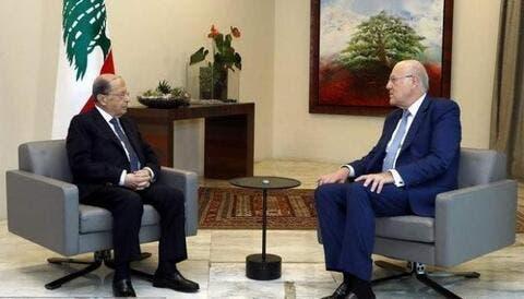 مدير الأمن اللبناني: الحكومة تشكلت جراء ضغوطات خارجية.. وتوسطت بين عون وميقاتي