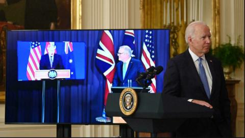 US, Australia Ink a Nuclear-powered Submarine Tech Deal