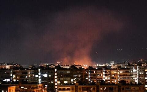 Israel's Deadly 'War Games' Over The Syrian Airspace