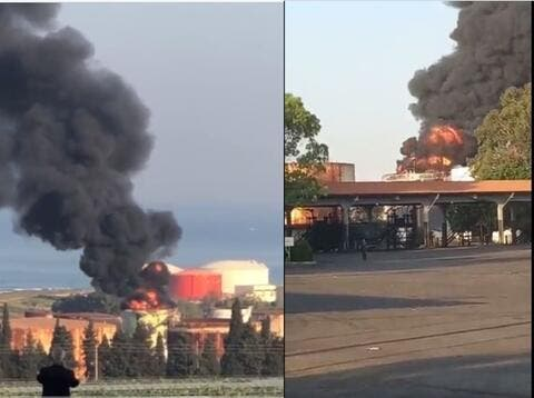 Huge Blaze Reported in Lebanon's Power Plant