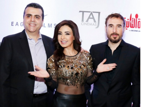 Film buffs go wild for Maguy Bou Ghosn and Bassem Moughnieh in Jordan