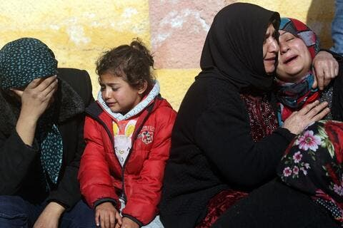 Floods Engulf Syria's Afrin Refugee Camp, 30 Tents Destroyed