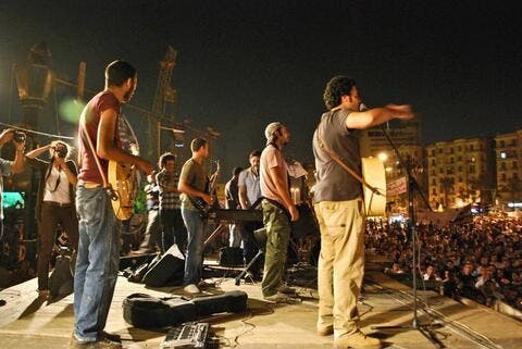 Egyptians Excited for First Ever Heavy Metal Band Show