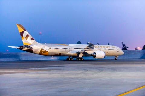 UAE's Etihad Halts Flights to Saudi Arabia till Aug 10