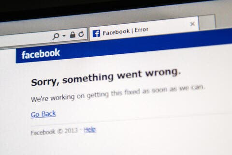 Facebook Down: Users Report Outage Due To 'Degraded Performance'