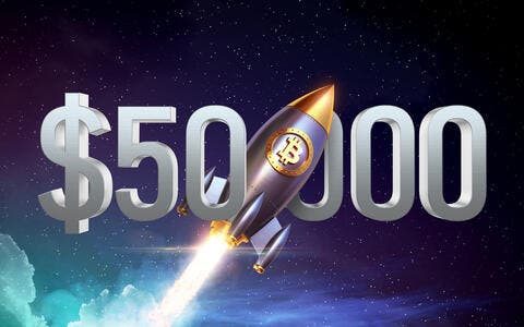Crypto Prices Today: Bitcoin Shoots Past $50K!