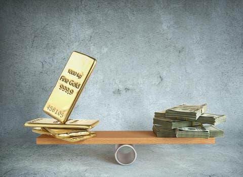 Gold Prices Up As US Dollar Weakens, Investors Await US Economic Data