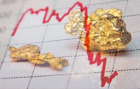 Gold Trades Up to Highest Level in Four Months